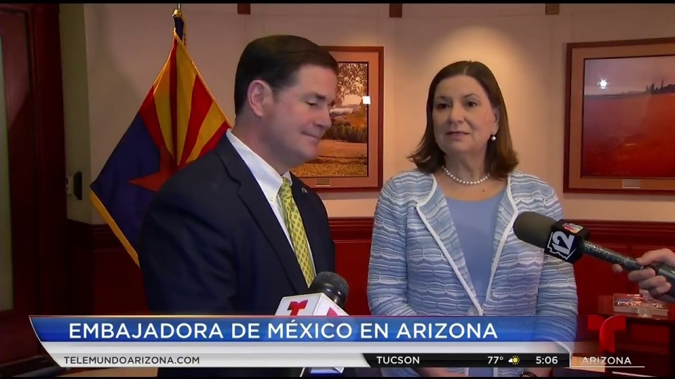 Telemundo Arizona: Embajadora De México En Arizona