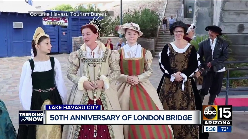 ABC15: Governor Ducey, London Officials Celebrate 50th Anniversary Of London Bridge