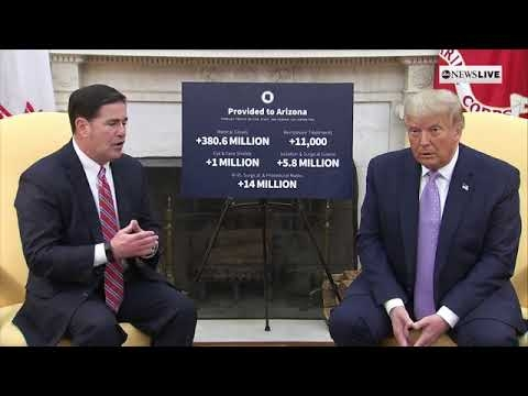 Gov. Ducey Discusses Arizona's Response to COVID-19 With President Trump