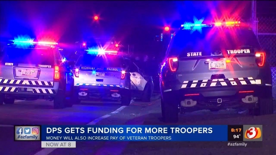 3TV: DPS Gets Funding For More Troopers, Money Will Also Increase Pay Of Veteran Troopers