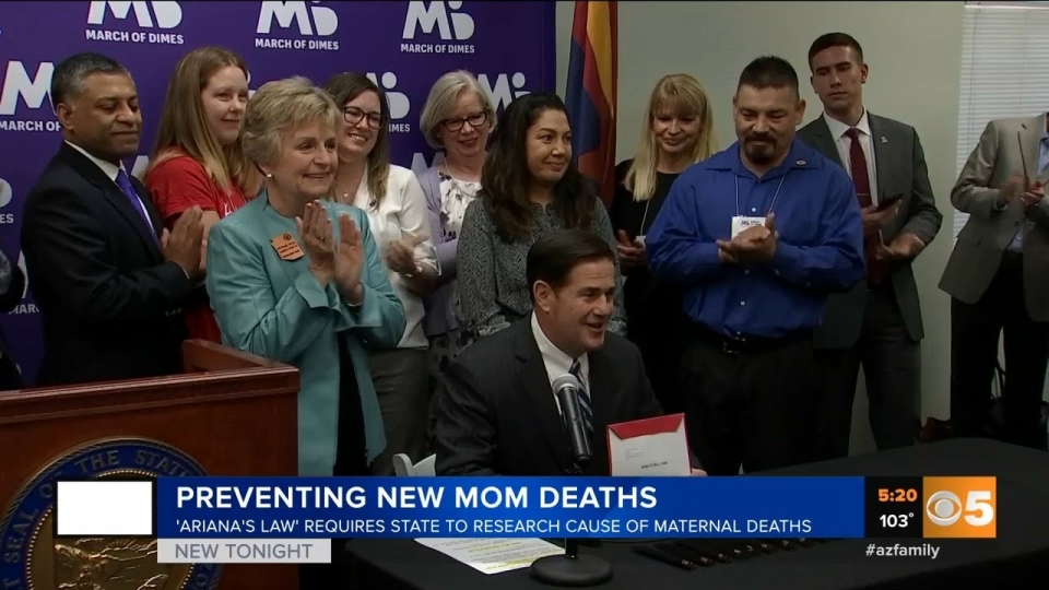CBS 5: Preventing New Mom Deaths