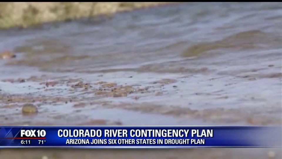 FOX 10: Arizona Joins Six Other States In Drought Plan