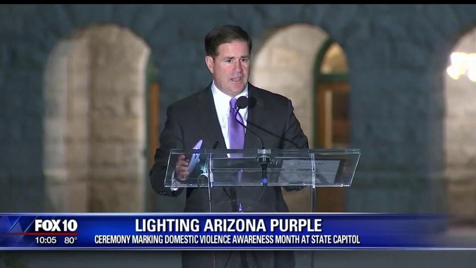 FOX 10: Lighting Arizona Purple