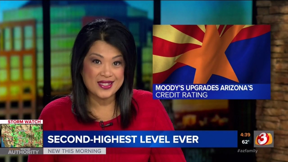 3TV: Moody's Upgrades Arizona's Credit Rating