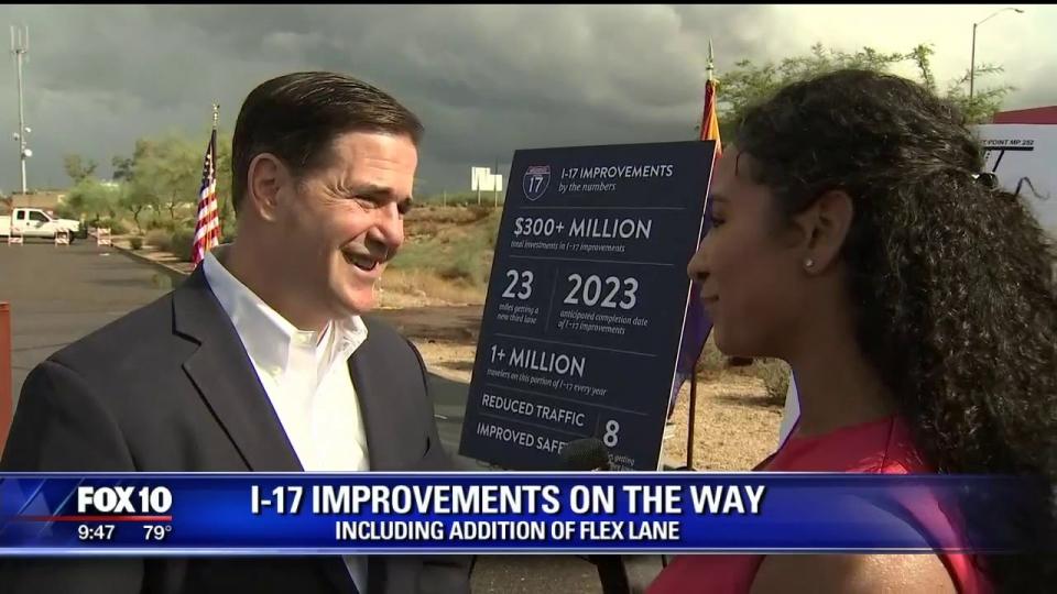 FOX 10: I-17 Improvements On The Way