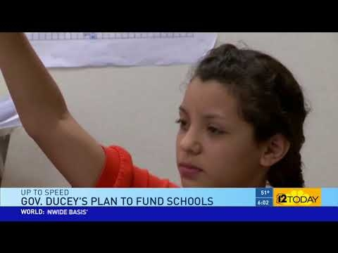 12 News: Gov. Ducey's Plan To Fund Schools