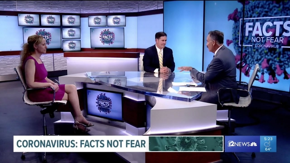 12 News: Coronavirus Facts Not Fear Special With Governor Ducey And Health Director Dr. Christ