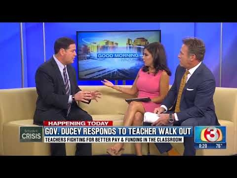 Governor Ducey On 3TV's Good Morning Arizona