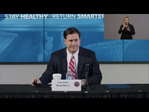LIVE: Governor Ducey Provides Updates On COVID-19 In Arizona