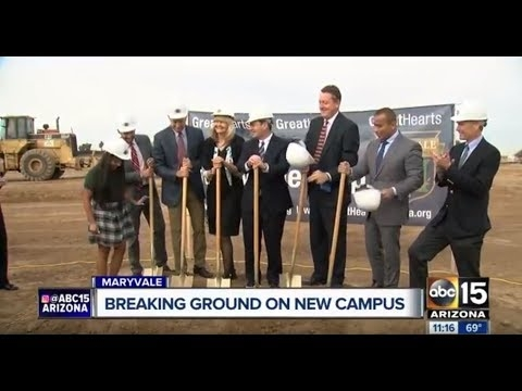 Breaking Ground On The New Great Hearts Charter Campus