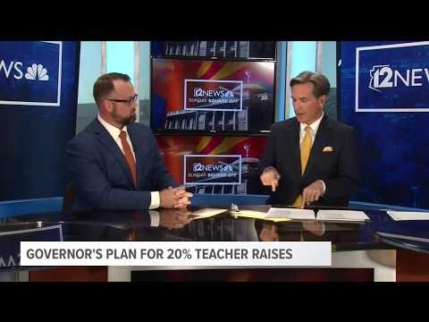 12 News: Gov. Ducey's Plan For 20% Teacher Raises