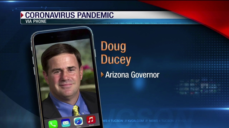 News 4 Tucson: Governor Doug Ducey Gives COVID-19 Update