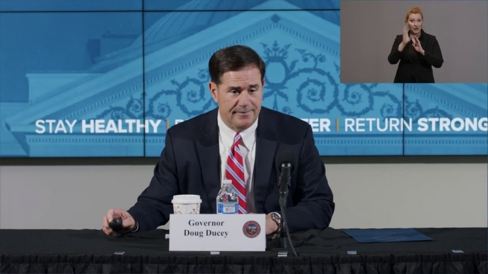 Arizona COVID-19 Briefing with Governor Ducey, Dr. Christ, Maj. Gen. McGuire - June 25, 2020