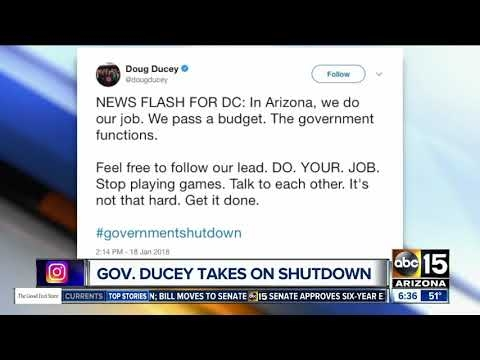 ABC-15: Governor Ducey Shutdown Tweet