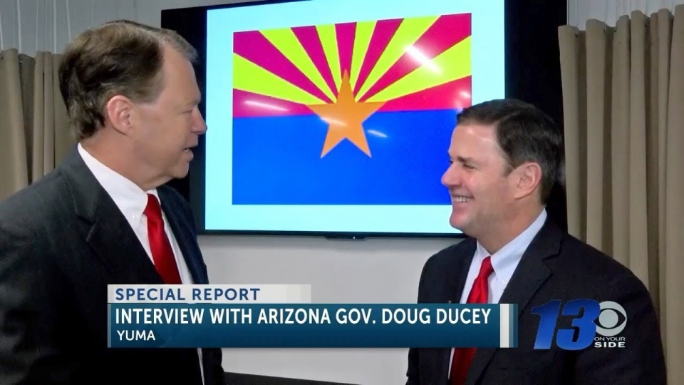KSWT: Interview with Arizona Governor Doug Ducey