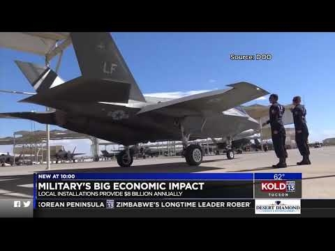 Study Shows Mega Economic Impact Of Military