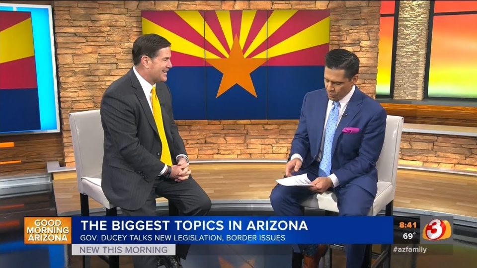 3TV: Governor Doug Ducey Interview On Good Morning Arizona