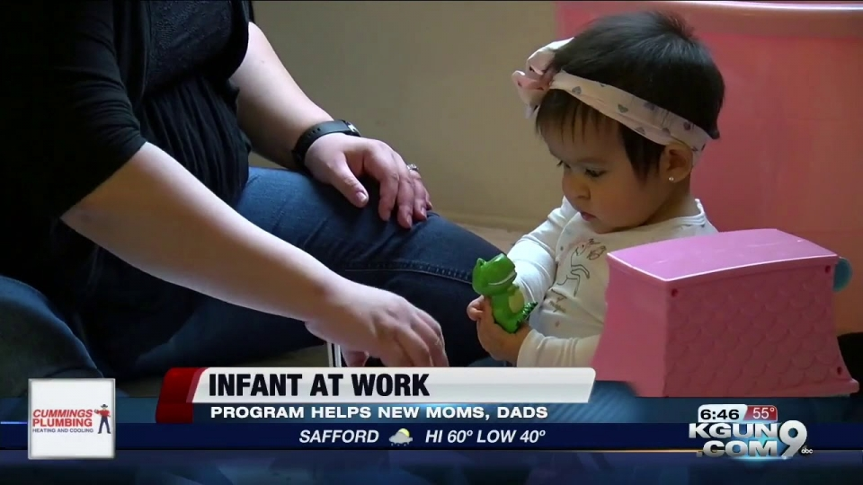 KGUN 9: Infant At Work Program Helps New Moms, Dads