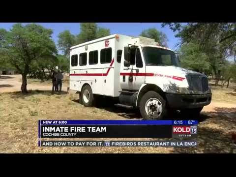 KOLD Tucson: Inmate Crews Busy Fighting Fires In Southern Arizona