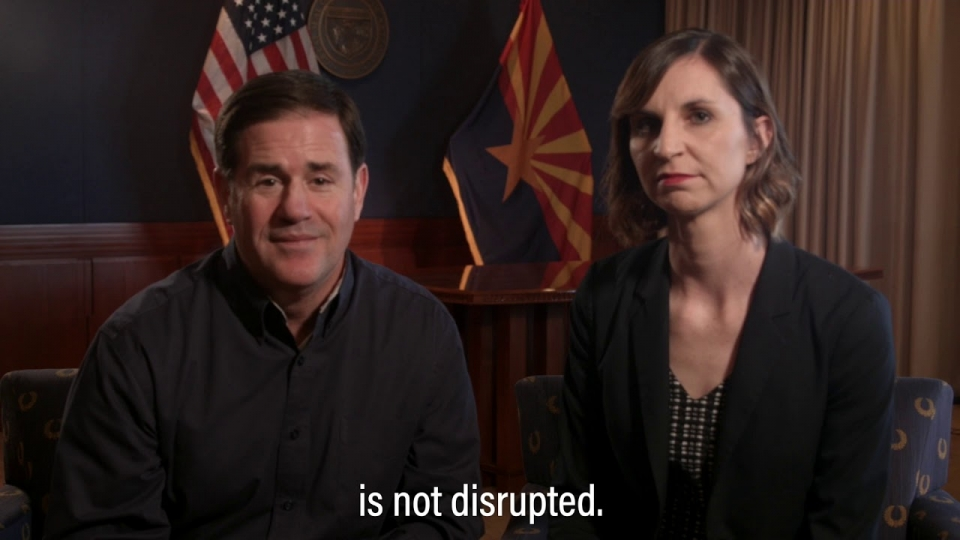 Governor Ducey, Superintendent Hoffman Announce Two-Week Extension Of School Closures