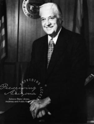 Harvey Wesley Bolin Gubernatorial term 1977-1978