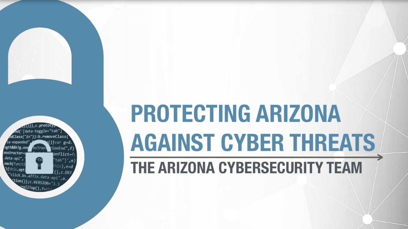 Governor Ducey Forms Arizona Cybersecurity Team | Office of
