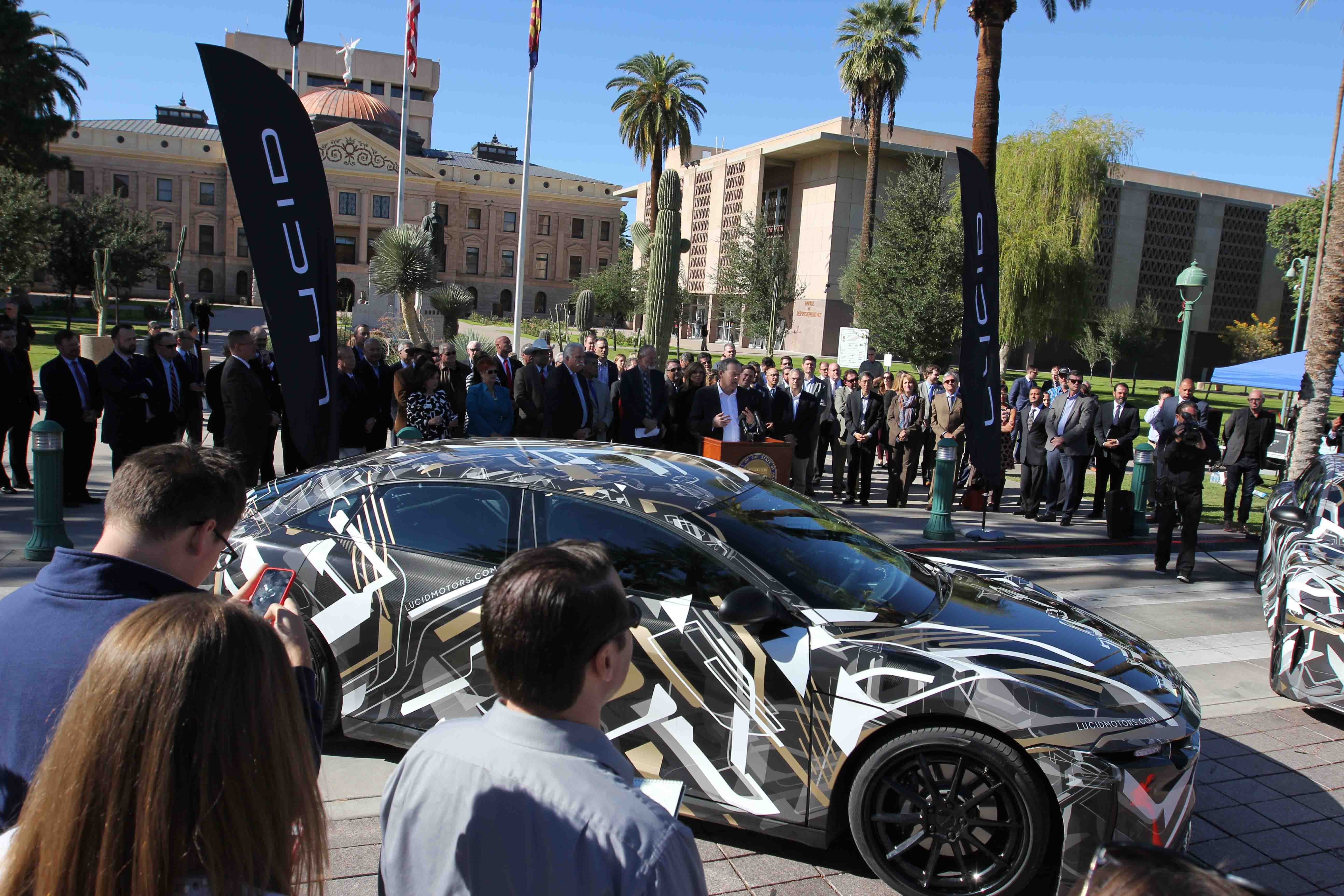 The Second 2 000 Arizona Jobs Announcement In Two Weeks Lucid S Decision To Build Their Innovative Vehicles Casa Grande Shows Economic