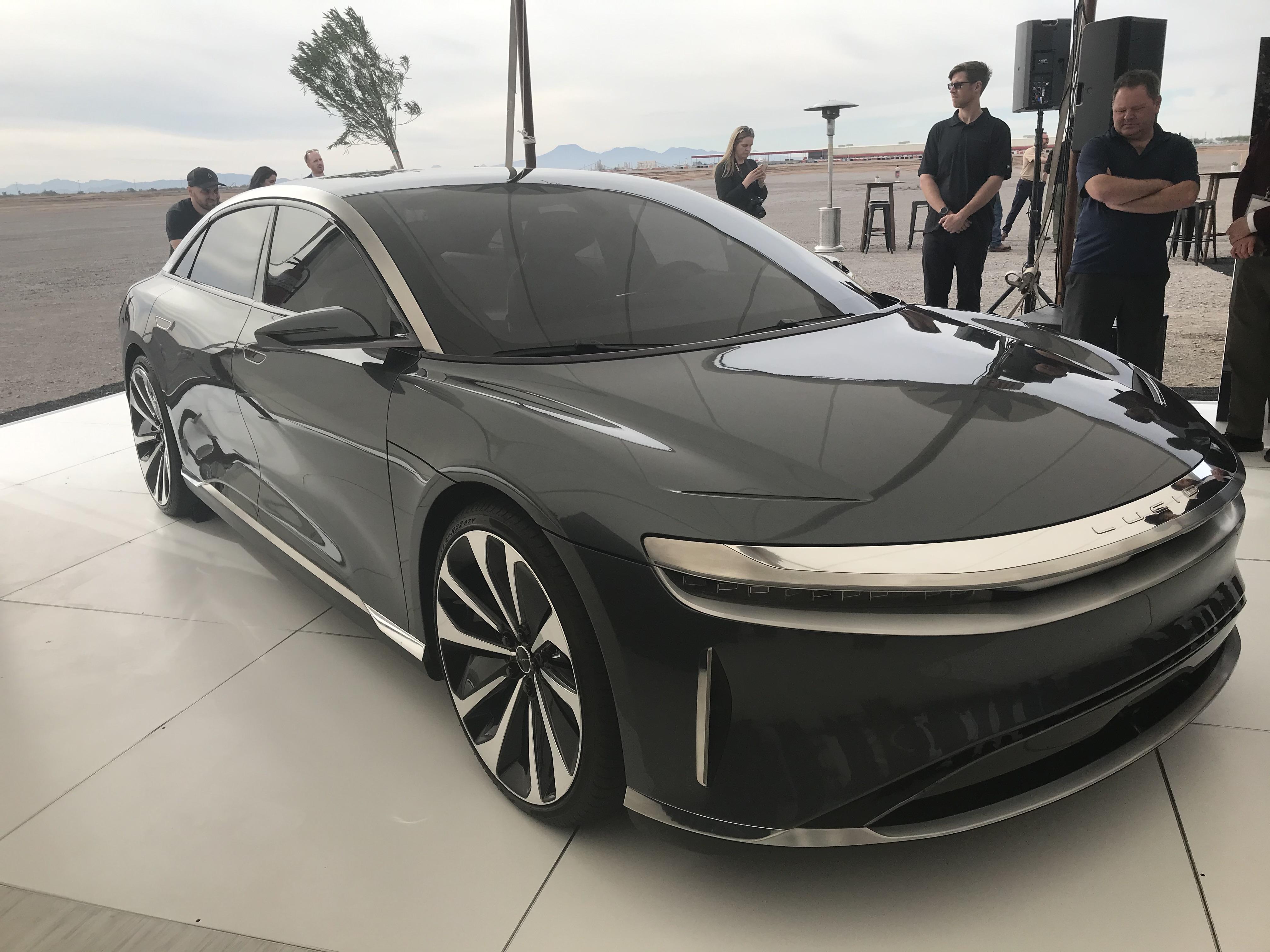 Lucid Motors Marks Start Of Construction At Arizona ...