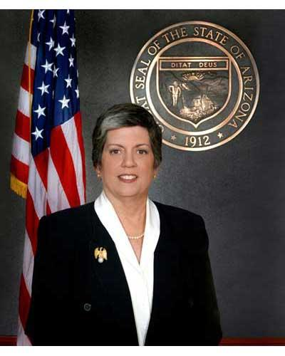 Janet Napolitano Gubernatorial term 2003 to 2009