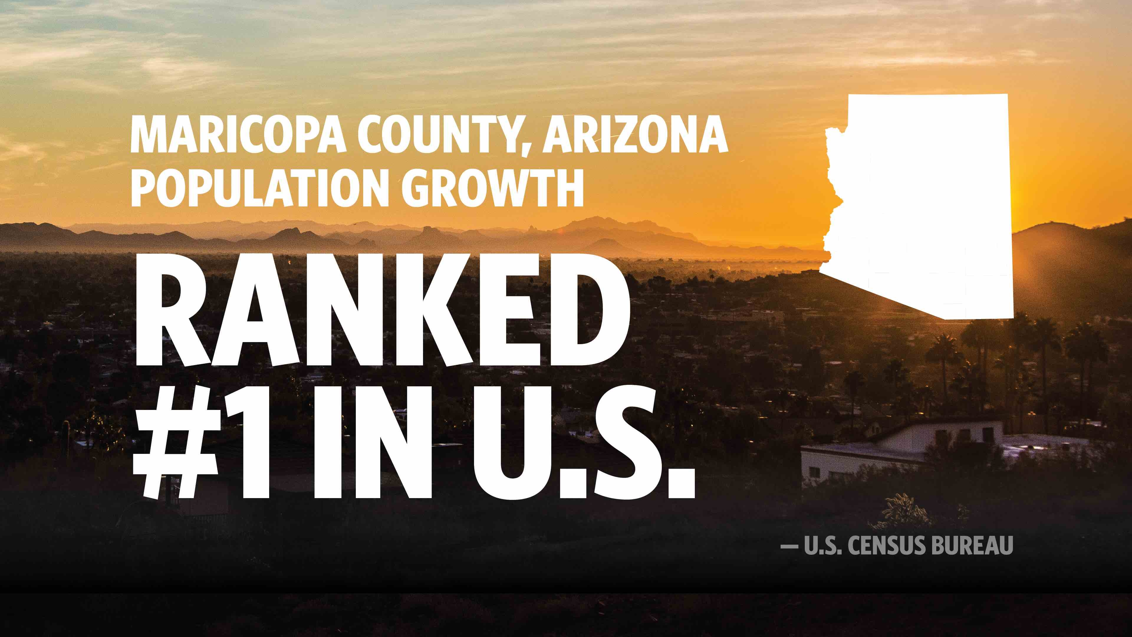 Maricopa County 1 In U S For Population Growth Office