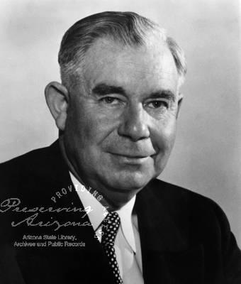 Ernest W. McFarland Gubernatorial term 1955-1959