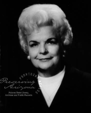 Rose P. Mofford Gubernatorial term 1988-1991