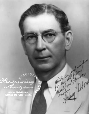 Sidney P. Osborn Gubernatorial term 1941-1948