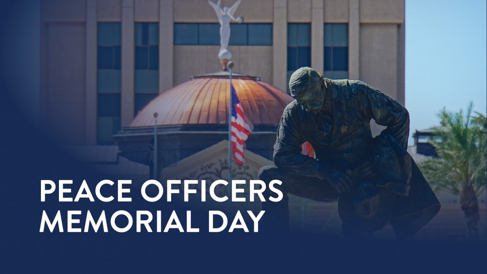 Safety Tip Of The Day >> Governor Ducey Orders Flags At Half-Staff For National Peace Officers Memorial Day | Office of ...