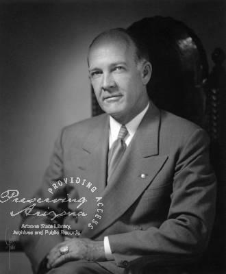 John Howard Pyle Gubernatorial term 1951-1955