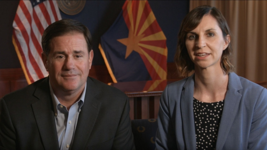 Governor Ducey, Superintendent Hoffman Announce Hotspot Drive For Arizona Students